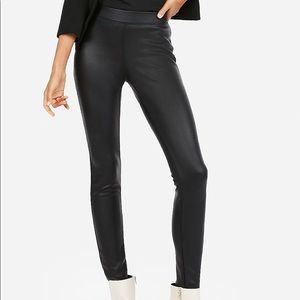Sexy faux leather leggings! NWT